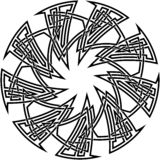узел 11 celtic Стоковое Фото