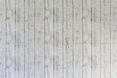 Узел строки над белой древесиной Стоковое Фото