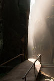 Узкая дорожка каньона стоковые фото