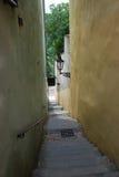 узкая малая улица Стоковое фото RF