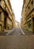 узкая улица Стоковое Изображение RF