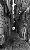 узкая улица rome Стоковое фото RF