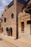 узкая часть переулка стоковое фото rf