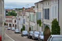Узкая часть, улица с односторонним движением Стоковая Фотография RF