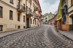 Узкие улицы Прага стоковое фото rf