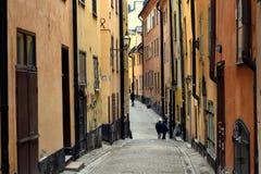 узкие улицы Стоковые Изображения RF