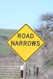 Узкие части дороги Стоковые Изображения RF