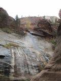 Узкие части, национальный парк Сиона, Юта Стоковые Фото