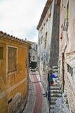 Узкий переулок стоковая фотография