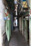 Узкий переулок в Хо Ши Мин Стоковое Фото