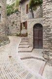 Узкий переулок стоковое изображение rf
