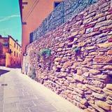 Узкий переулок стоковые фото