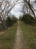 узкий путь Стоковая Фотография RF