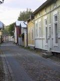 узкий старый городок улицы Стоковые Фото