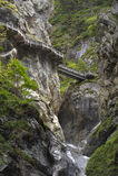 Узкий gorge Стоковое Фото