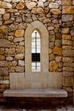 узкое окно Стоковые Фото