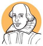 Уильям Шекспир Стоковое фото RF