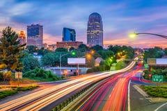 Уинстон-Сейлем, Северная Каролина, США стоковое изображение