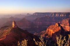Укажите оправа имперского, грандиозного каньона северная Стоковое Изображение RF