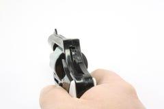 указанный пистолет стоковое фото