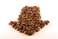 указатель кофе стоковая фотография rf