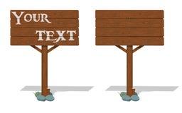 Указатель изолята деревянный Стоковое Изображение