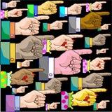 Указатель руки Стоковые Фотографии RF