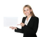 указывать дела афиши пустой исполнительный Стоковое Изображение RF