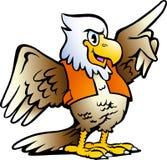 указывать иллюстрации орла Стоковые Фото