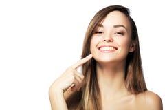 Указывать к зубам стоковое фото rf