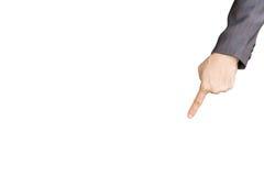 Указывать пальца Стоковое фото RF