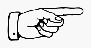 указывать руки Стоковая Фотография RF
