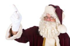Указывать Santa Claus Стоковая Фотография RF