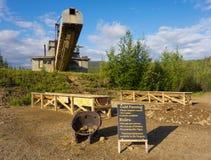 Укладка в форме золота для туристов в Аляске Стоковые Изображения