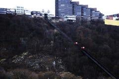Уклон в Питтсбурге стоковые фотографии rf