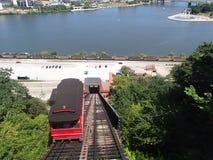 Уклон Duquesne в PA Питтсбурга стоковое изображение