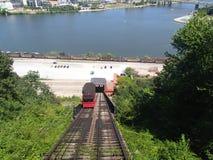 Уклон Duquesne в PA Питтсбурга стоковое изображение rf