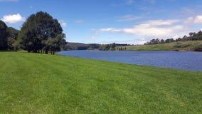 Укомплектовывать личным составом реку Wingham, Австралия стоковое фото rf