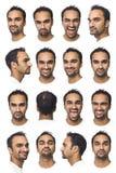 укомплектуйте личным составом портреты 16 Стоковые Изображения