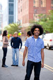 укомплектуйте личным составом урбанское Стоковое Изображение RF