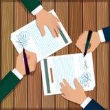2 укомплектовывают личным составом документы знаков иллюстрация вектора