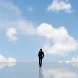Укомплектуйте личным составом взгляд и откройте стоковая фотография rf