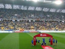 Украина против Беларуси Стоковое Фото