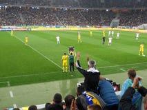 Украина против Беларуси Стоковая Фотография RF