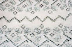 Украинская вышивка прорезной вышивки Стоковые Изображения