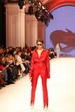 Украинская неделя FW18-19 моды: собрание Katerina KVIT Стоковые Изображения