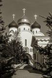 Украинская православная церков церковь патриарха Москвы, святое Assumpti стоковые фото