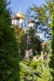 Украинская православная церков церковь патриарха Москвы, святое Assumpti стоковые изображения rf