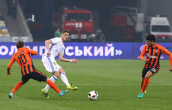 Украинская премьер-лига: Динамомашина Kyiv v Shakhtar Стоковые Фото