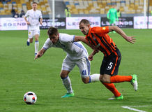 Украинская премьер-лига: Динамомашина Kyiv v Shakhtar Стоковое фото RF